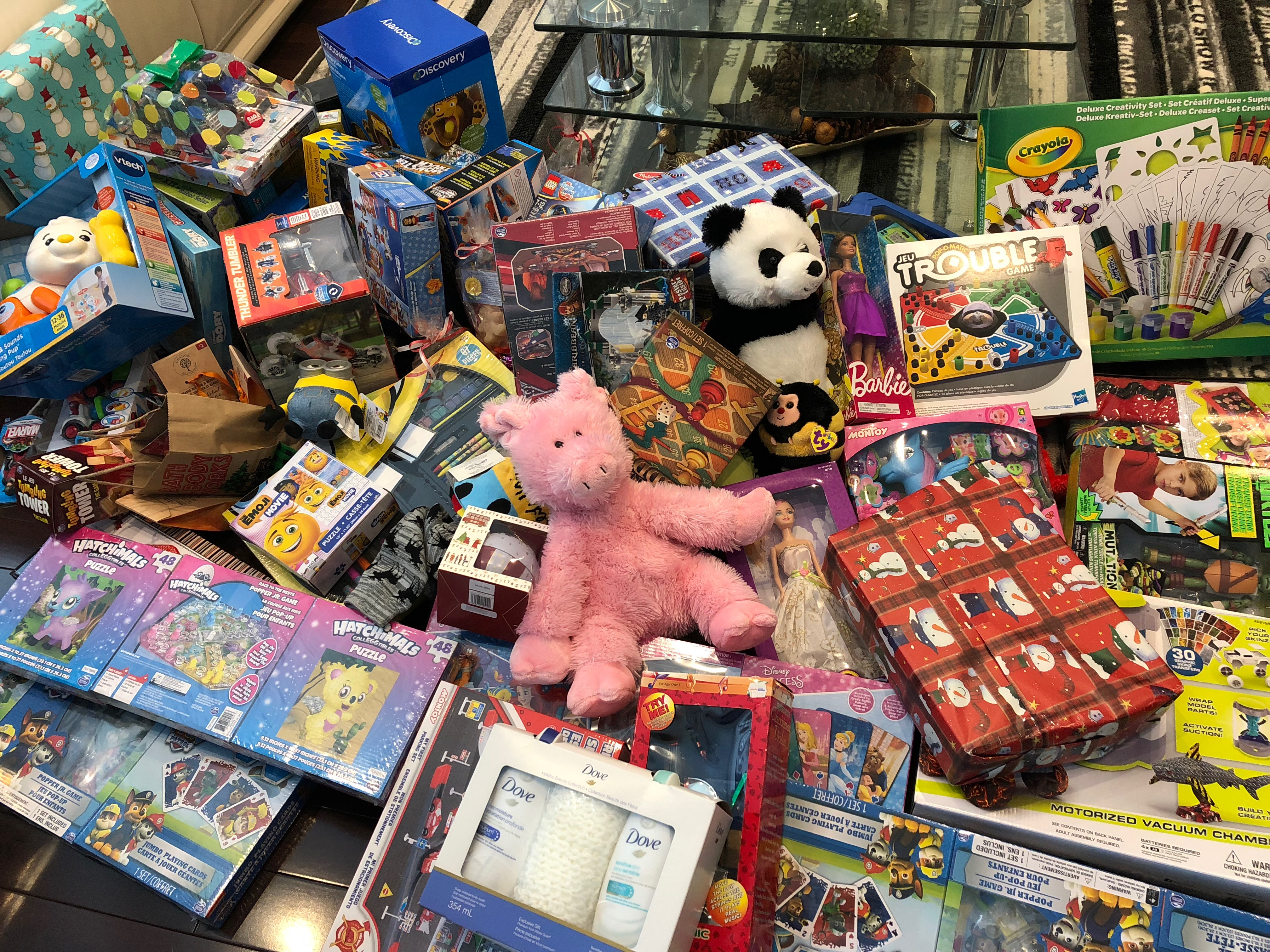 DEENA RIZWAN and TOYS for TOTS Helping children in the community