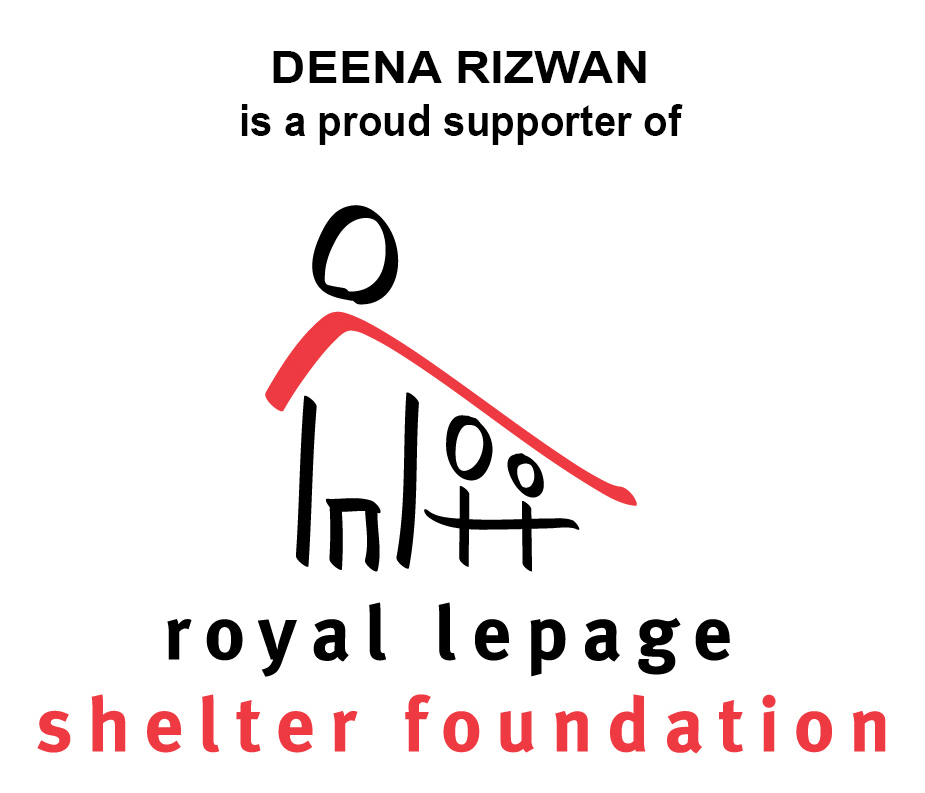 DEENA RIZWAN and THE ROYAL LEPAGE SHELTER FOUNDATION FUNDRAISER
